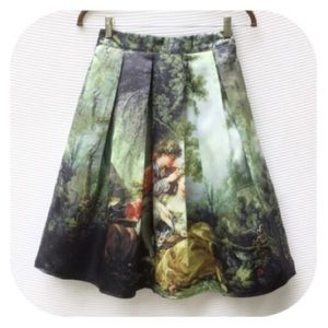 Dresses & Skirts - New French Renaissance Painting Skirt M 8